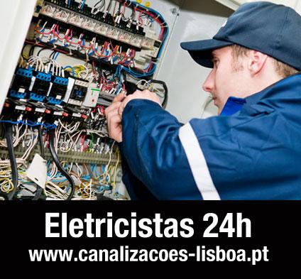 Eletricistas em Lisboa 24 horas