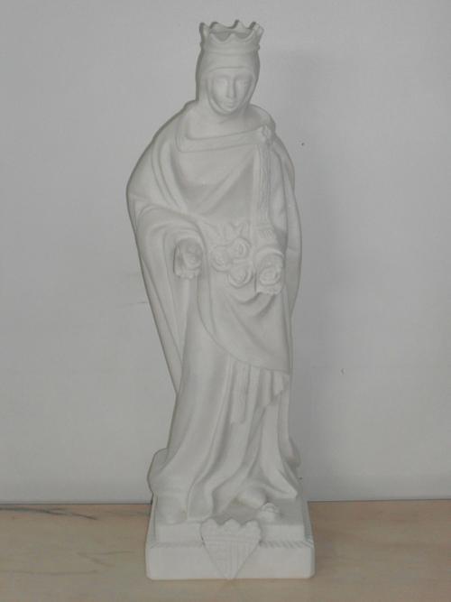 img-Rainha Santa Isabel em Mármore