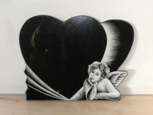 img-Lápide coração com Anjo