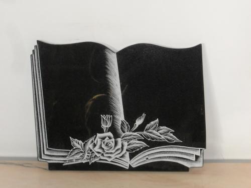 img-Lápide livro com flores