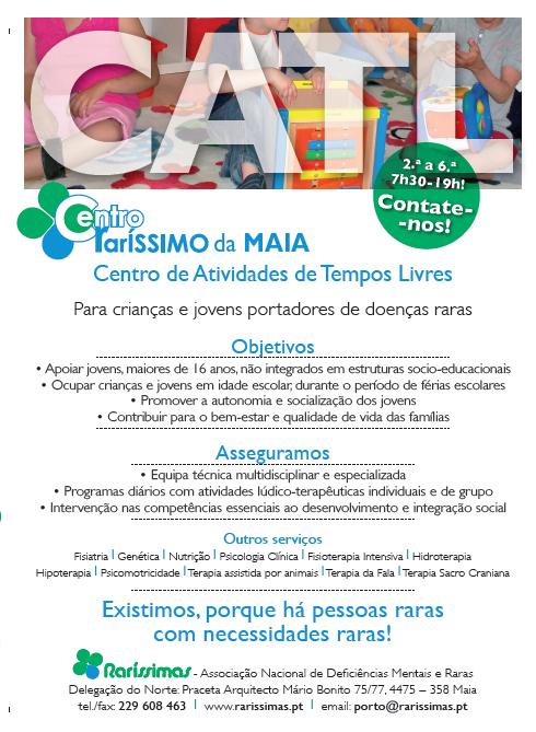 ATL para crianças e jovens portadoras de doenças raras