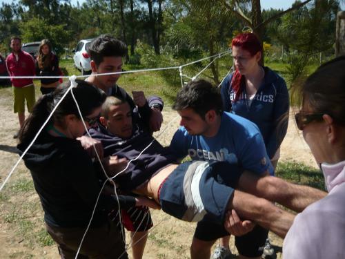 Relacionamento, Criatividade e Confiança - Team Building
