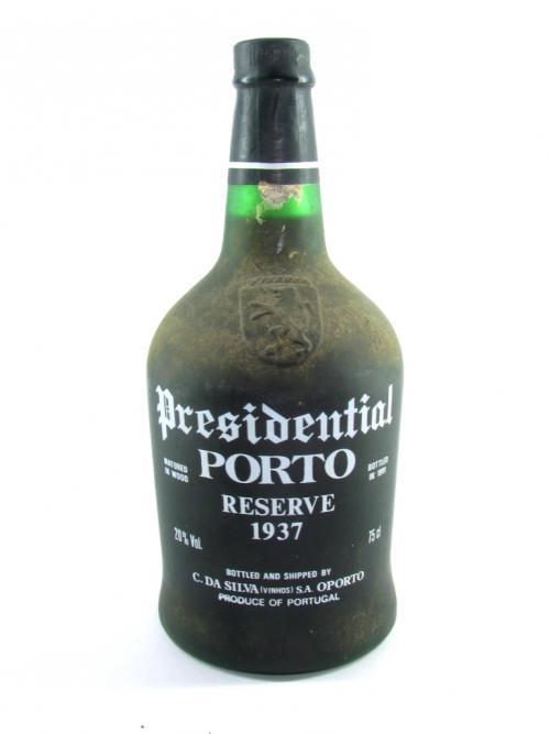 destaque Vinho do Porto Presidential, Reserva 1937