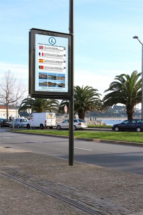 destaque Mupi no Porto