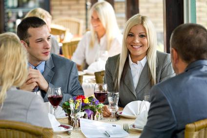 Almoços e jantares de negócios