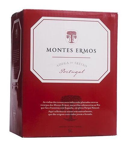 destaque Vinho Tinto Montes Ermos em Box de 5L