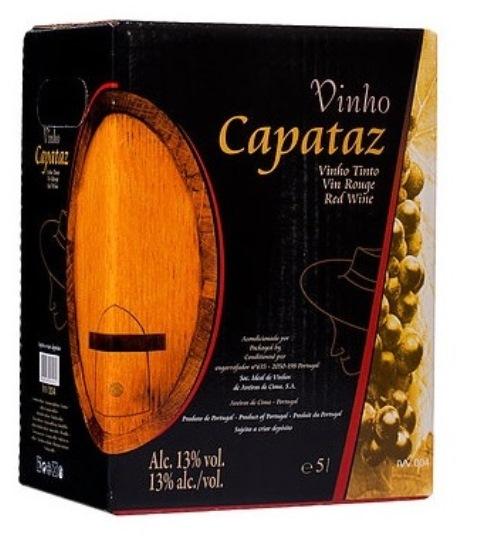 destaque Vinho Tinto Capataz em Box de 5L