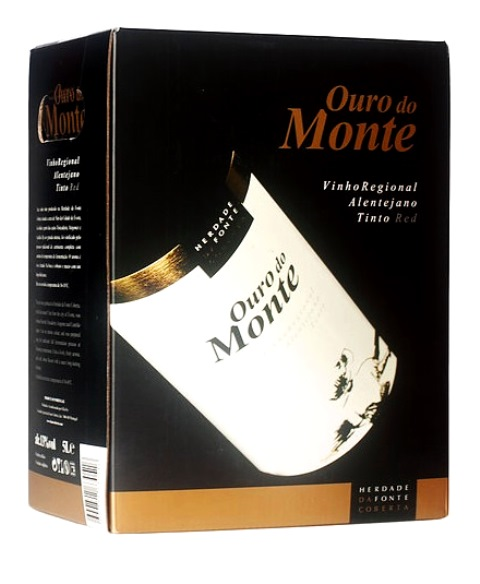 img-Vinho Tinto Ouro do Monte em Box de 5L
