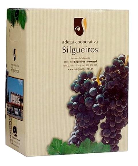 destaque Vinho Tinto Silgueiros em Box de 5L