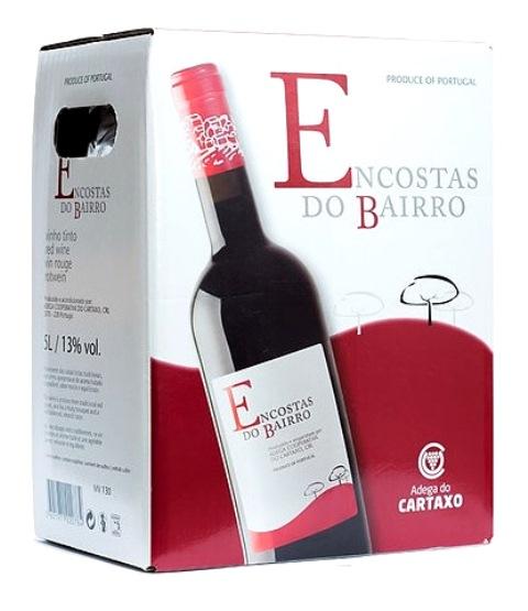 img-Vinho Tinto Encostas do Bairro em Box de 5L