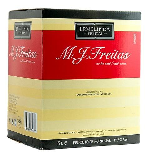 img-Vinho Rozé M J Freitas em Box 5L