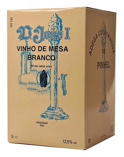 img-Vinho Branco D. João I em Box de 5L