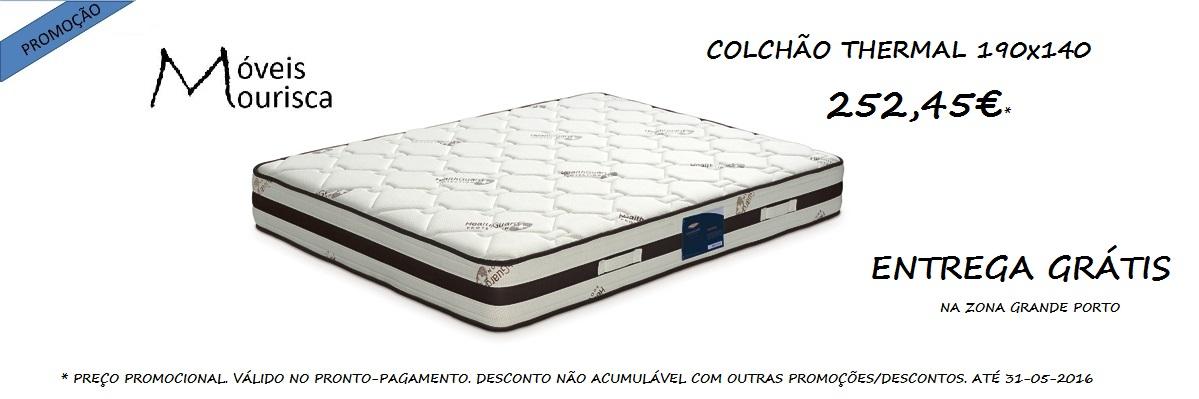 COLCHÃO THERMAL LUSOCOLCHÃO 190 X 140