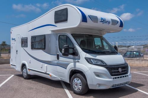 Aluguer Autocaravana Plus para 7 pessoas
