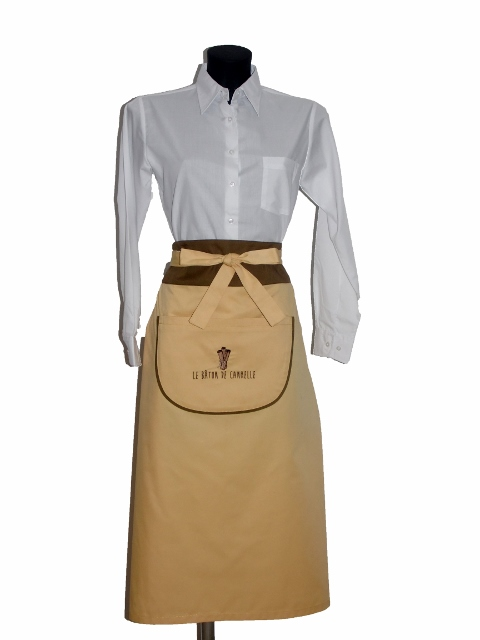 destaque Aprons for service in restaurants and hotels