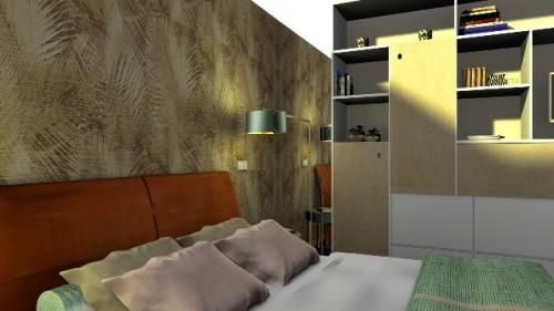 img-Decoração de quarto de casal com suite
