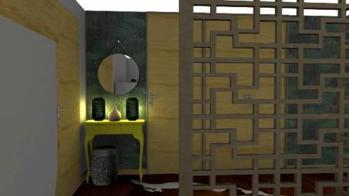 img-Decoração de hall de entrada de casa