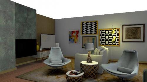 img-Decoração de sala de estar e de jantar conjugadas