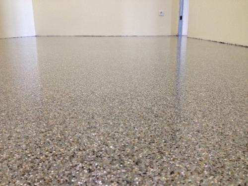 img-Aplicação de palheta em pavimento de Ginásio