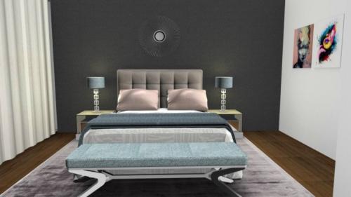 img-Decoração de quarto suite principal estilo contemporâneo
