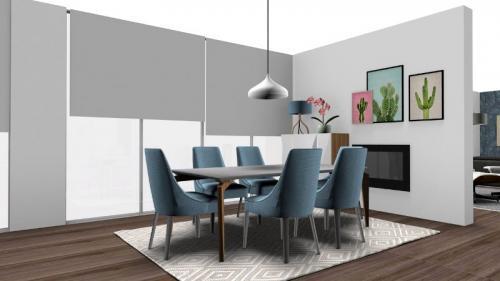 img-Decoração de sala de estar e cozinha integradas
