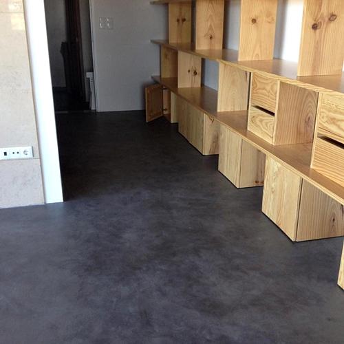 Lad constru o profissionais em pavimentos e - Suelo microcemento precio ...