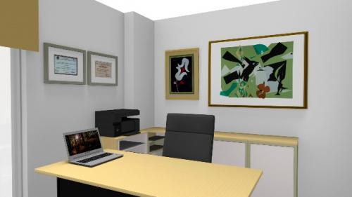 img-Decoração de escritório residencial