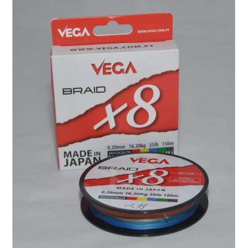 FIO VEGA BRAID x8