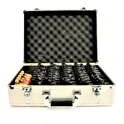 destaque Tour guide systems with 250 receivers and 25 transmitters for sale