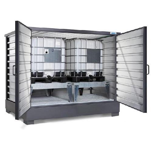 img-Depósito SolidMaxx galvanizado para 8 bidões de 200 litros
