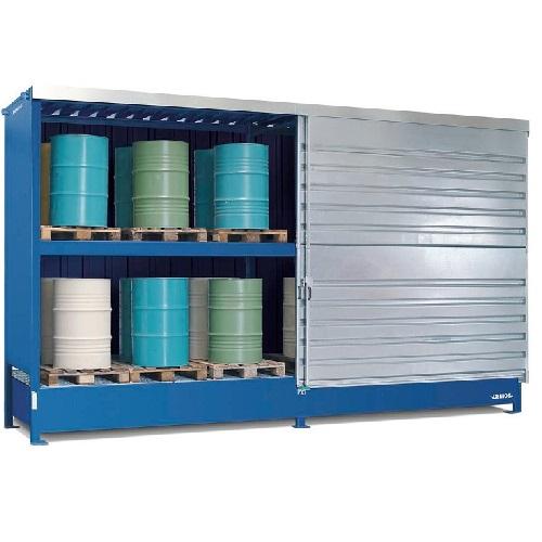 img-Armazém contentor modular para paletes de produtos químicos