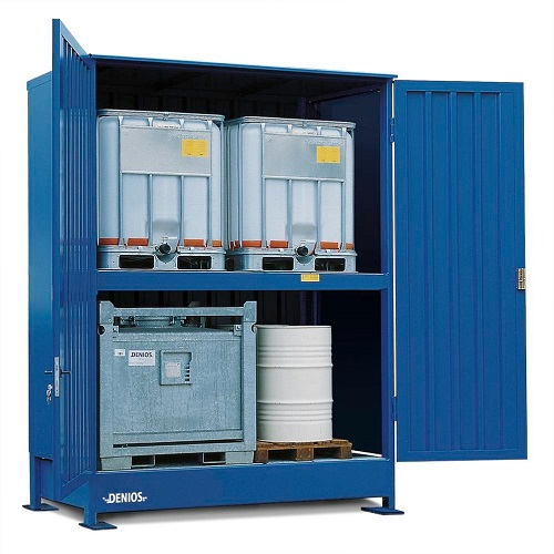 img-Armazém contentor modular para IBC de produtos químicos