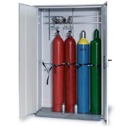 img-Armário para garrafas de ar comprimido de parede simples
