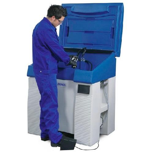img-Aparelho de lavagem em polietileno de peças para solventes