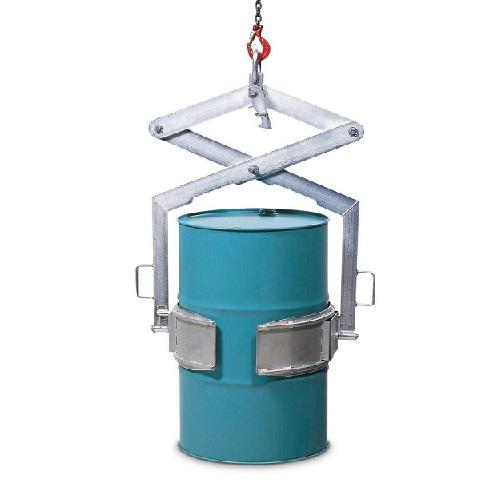 img-Garra para manobrar bidões HW em aço, galvanizada