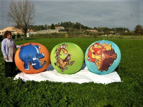 destaque Gonflable en forme de Ballon