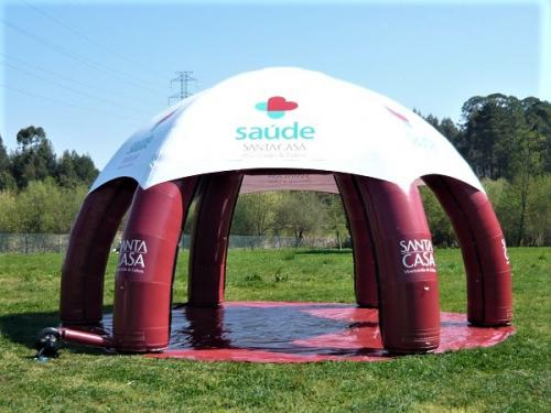 img-Tentes Igloo Gonflables à 6 jambes