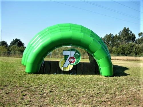destaque Inflatable Tunnel