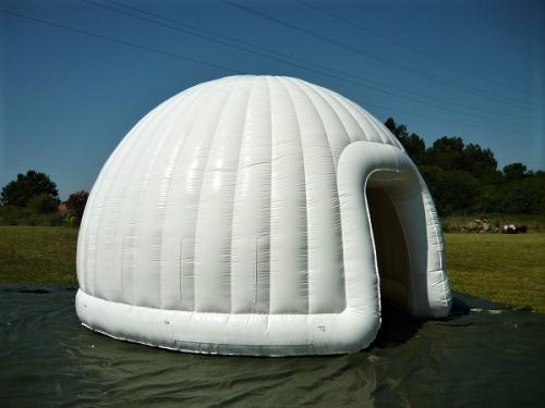 destaque Inflatable igloo tents