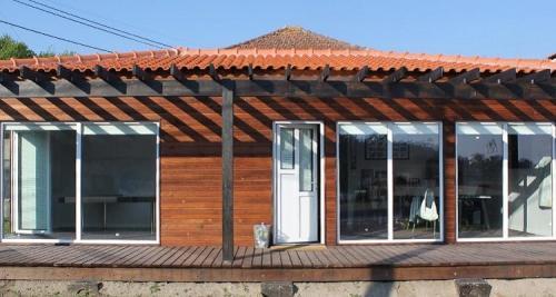 destaque Casa de madeira modelo B