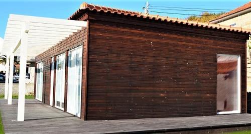 destaque Casa de madeira modelo C