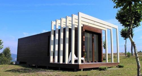 destaque Casa modular em aço