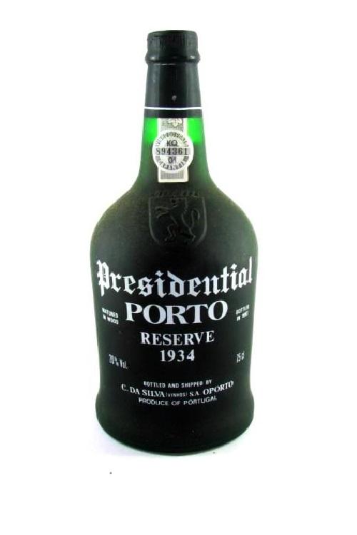 destaque Vinho do Porto Presidential, Reserva 1934