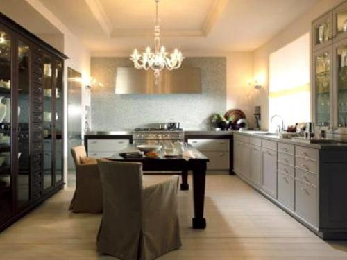 destaque Harmony Between Classical and Contemporary in Kitchens