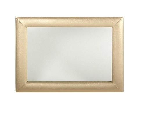 Espelho em napa ou tecido