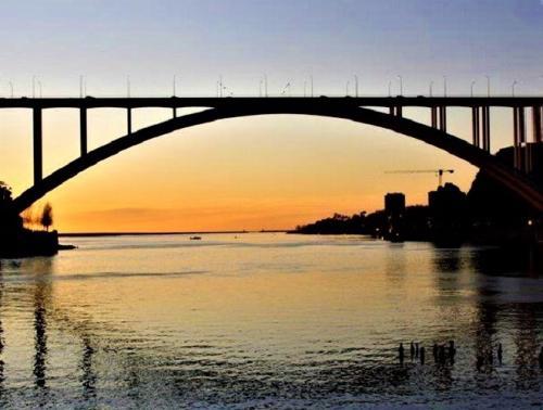 destaque Pôr do Sol em Pleno rio Douro