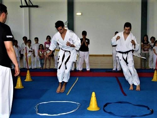 destaque Adolescentes dos 17 aos 21 anos, Karate em Viseu
