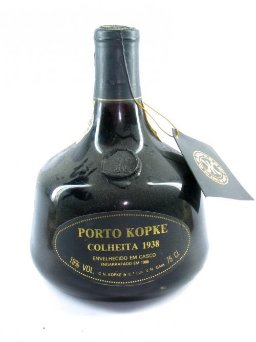 destaque Vino Porto Kopke, Cosecha 1938