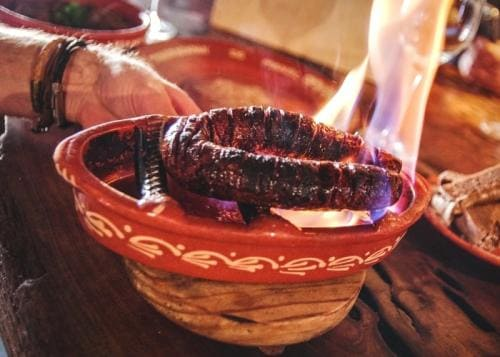 img-Roasted chorizo of Taberninha