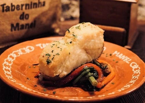 Morue cuite au four du Taberninha